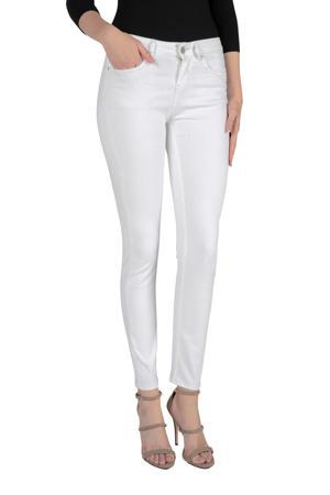 skinny jeans gebroken wit