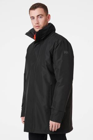 lange jas zwart