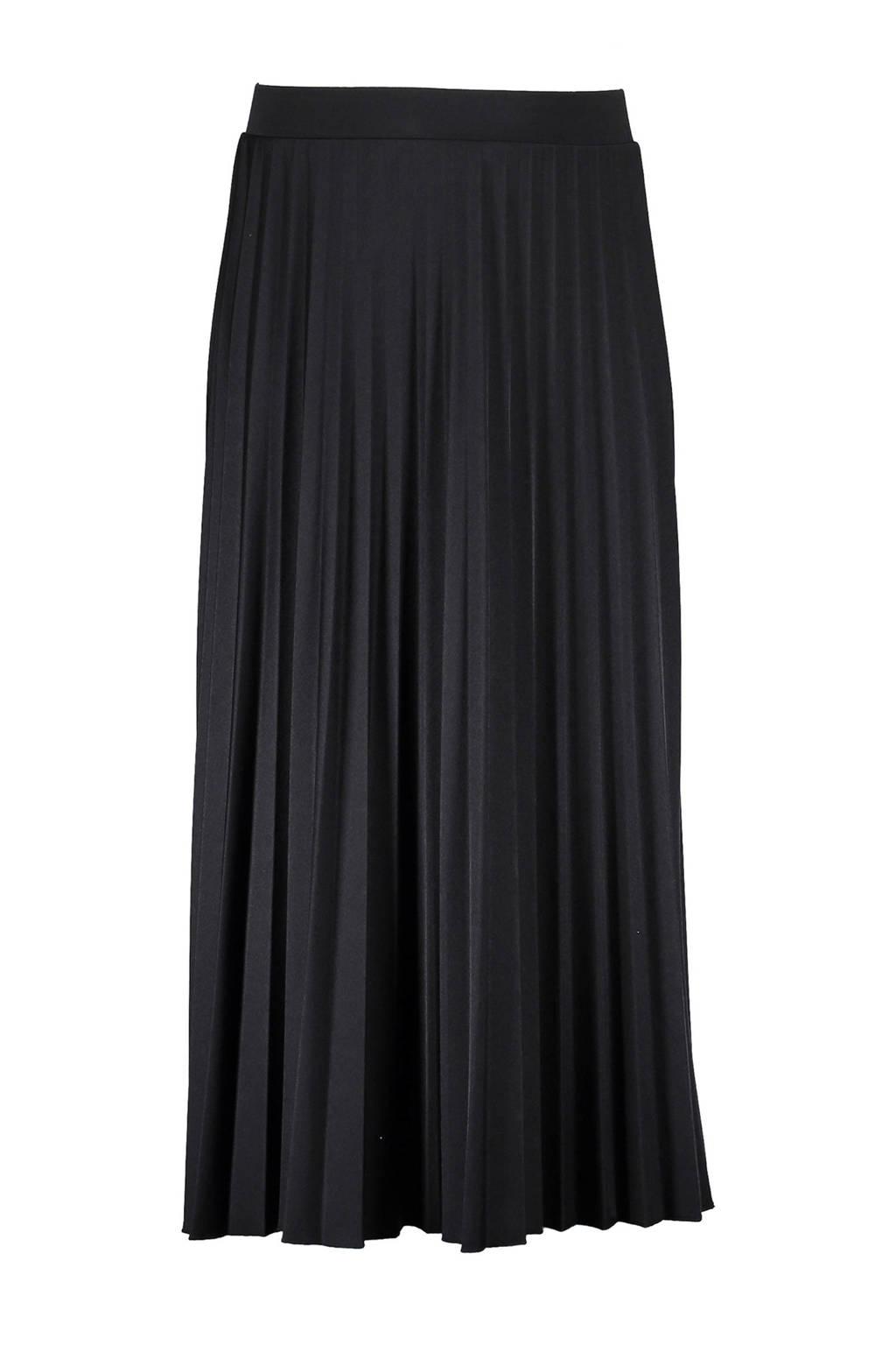 Geisha plissé rok zwart, Zwart