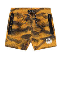 Vingino Daley Blind sweatshort Ranieri met all over print oranje/antraciet, Oranje/antraciet