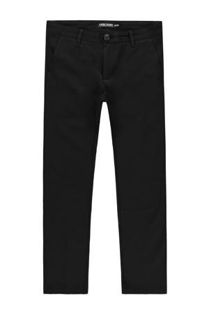slim fit broek Palo zwart