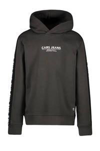 Cars hoodie Dougal met tekst donkergroen, Donkergroen