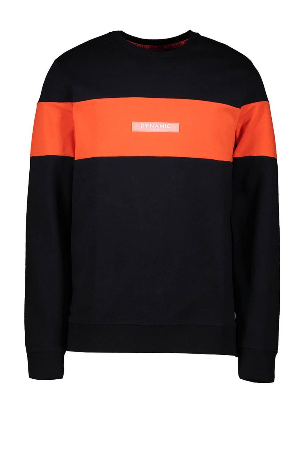 Cars sweater Sling zwart/oranje, Zwart/oranje