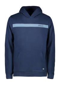 Cars hoodie Quince met logo marine, Marine