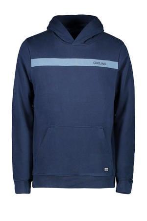 hoodie Quince met logo marine