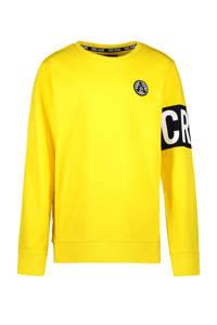 Cars sweater Obby met logo geel, Geel