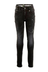 Vingino skinny jeans Amadeo black vintage, Black Vintage