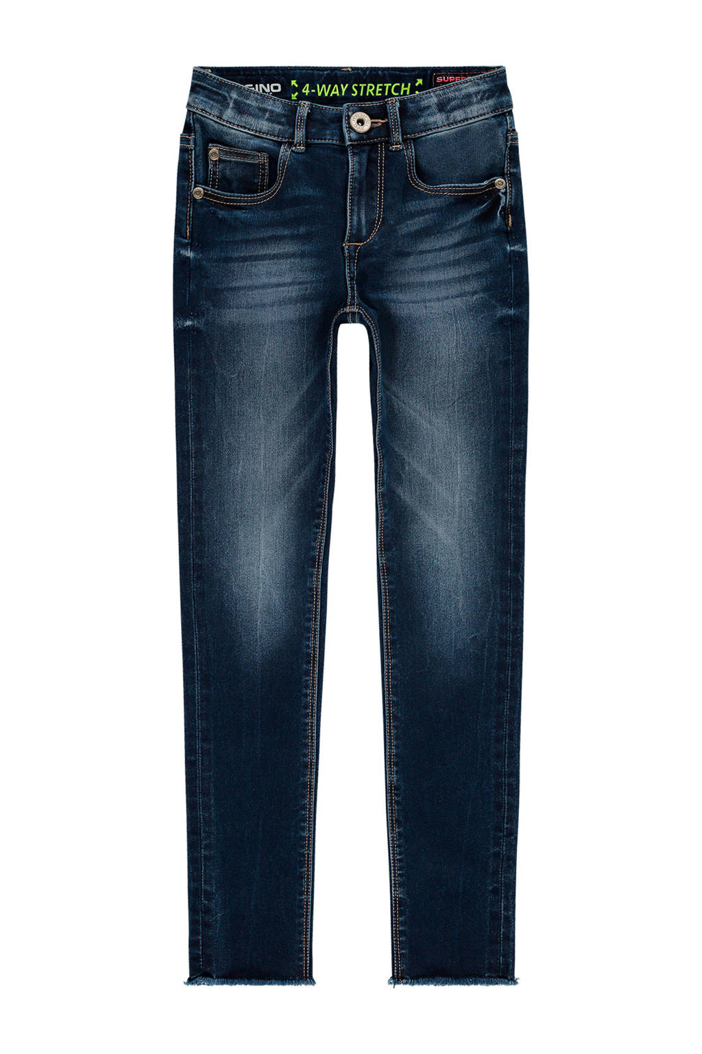 Vingino super skinny jeans Beverly mid blue wash, Mid Blue Wash