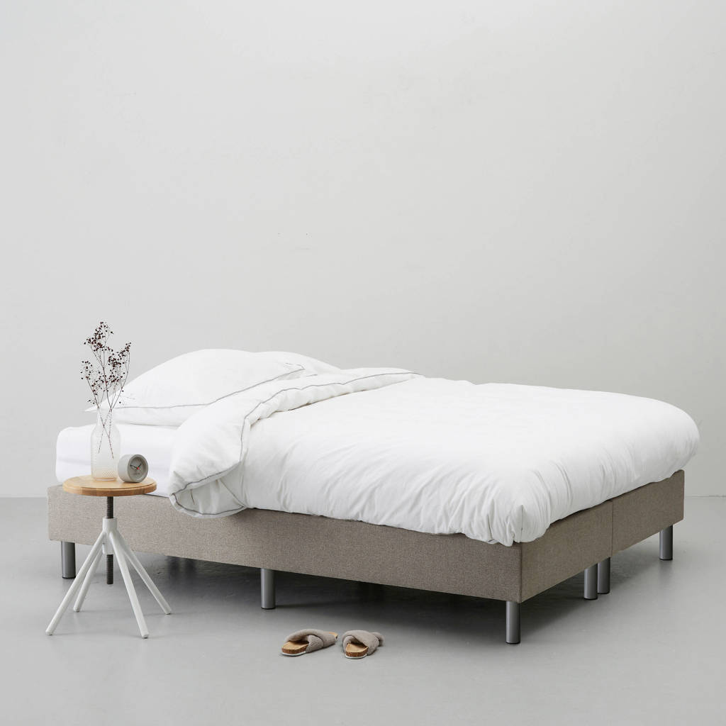 whkmp's own complete boxspring Nybo (140x200 cm), Taupe