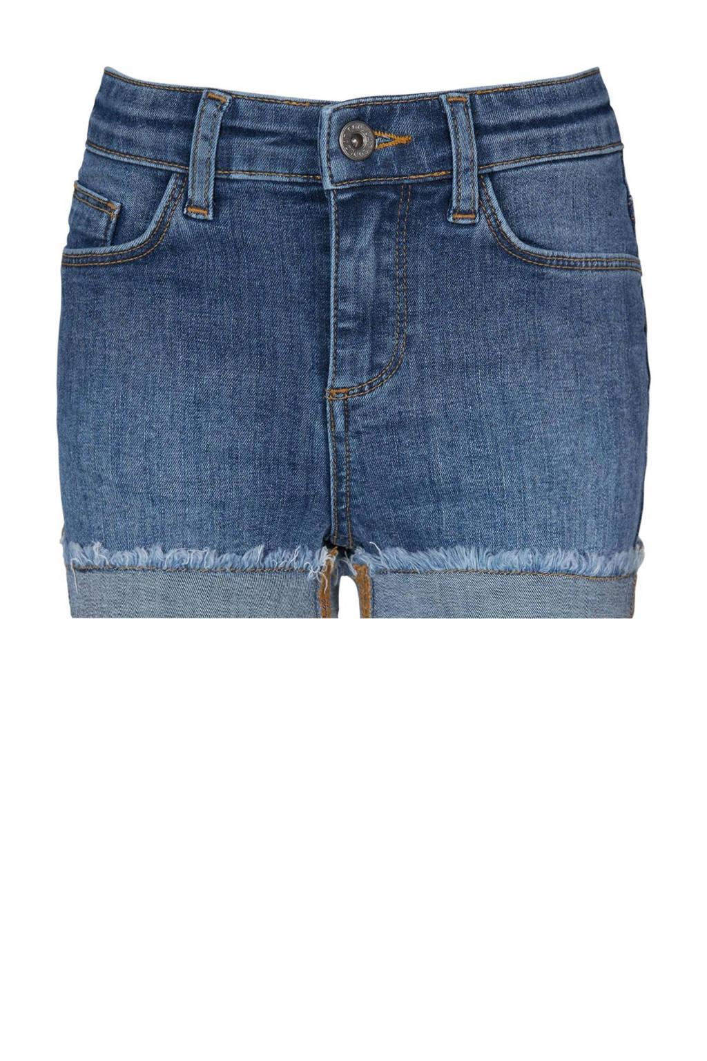 CoolCat Junior jeans short Naomi blauw, Blauw