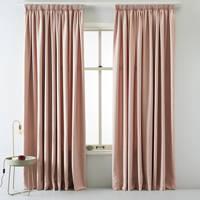 whkmp's own licht doorlatend gordijn (per stuk) (140 x 180 cm), Roze