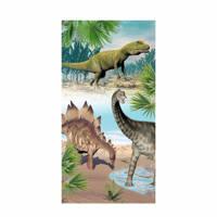 Good Morning kinderstrandlaken Dino (75x150 cm) Multi