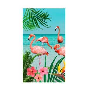 strandlaken Flamingo (100x180 cm) Multi