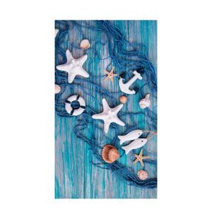 strandlaken Kevin (100x180 cm) Blauw