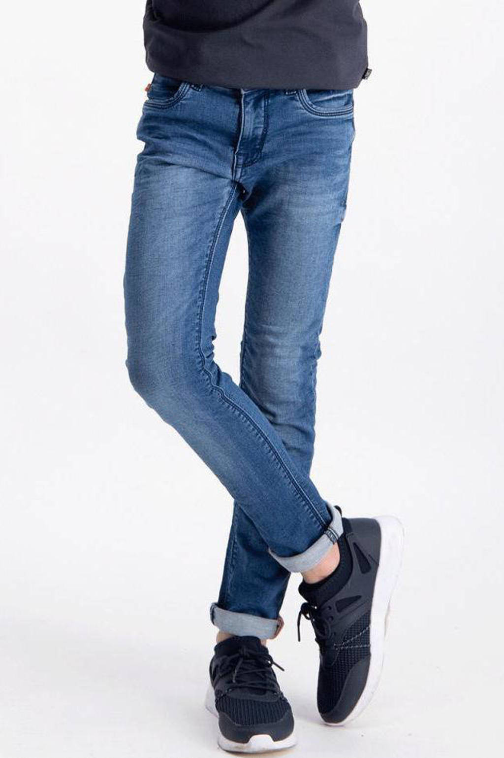 Cars slim fit jeans Patcon dark used, Dark used