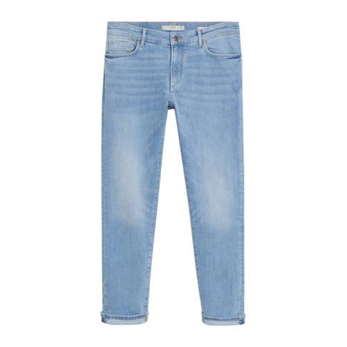 Mango Man slim fit jeans changeant blauw