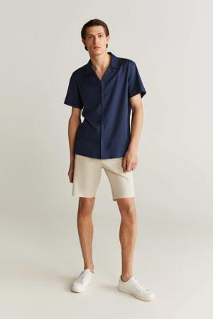 slim fit overhemd marine