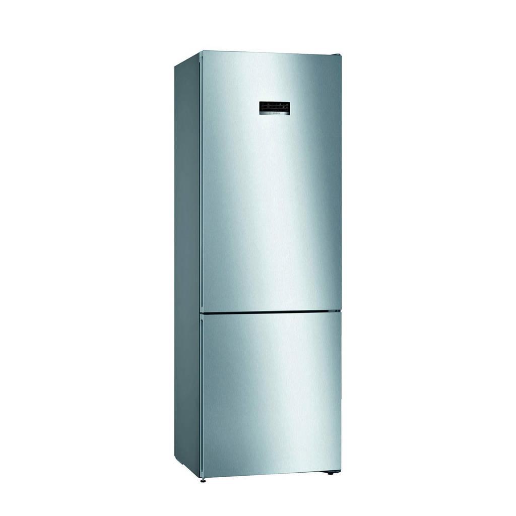 Bosch KGN49XIEA koel/vries combinatie, Zilver