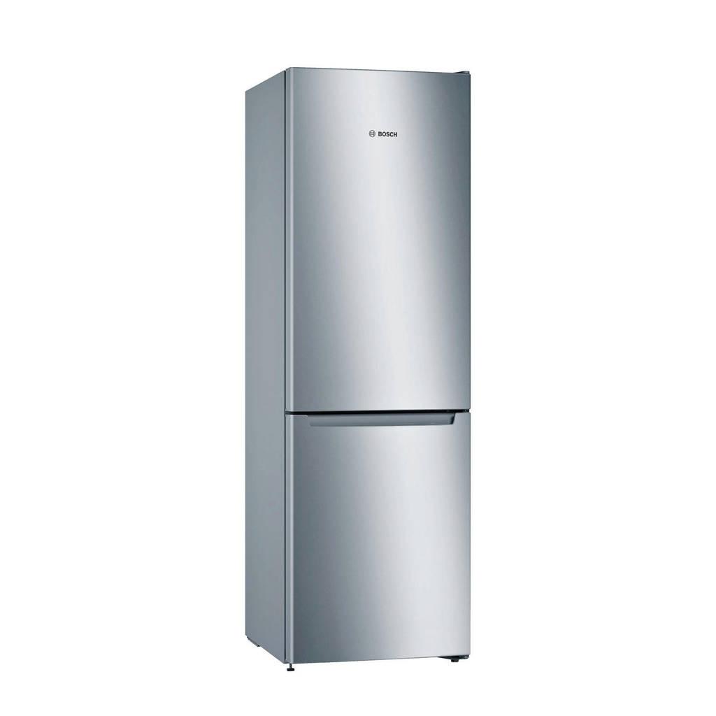 Bosch KGN33KLEAE koel/vries combinatie, Zilver