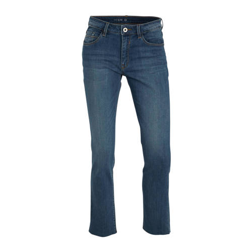 C&A The Denim cropped slim fit jeans blauw