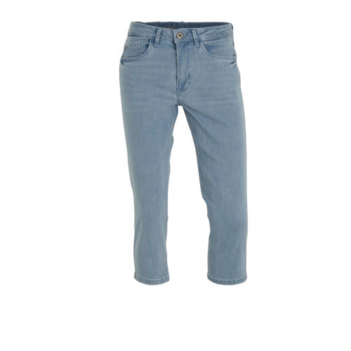 C&A The Denim slim fit capri jeans blauw