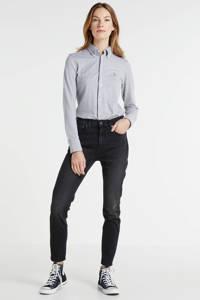 POLO Ralph Lauren high waist slim fit jeans HR SKNY ANK-SKINNY-DENIM washed black