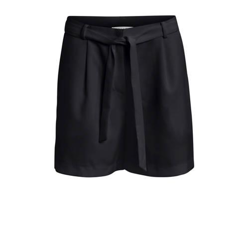VILA high waist loose fit short zwart