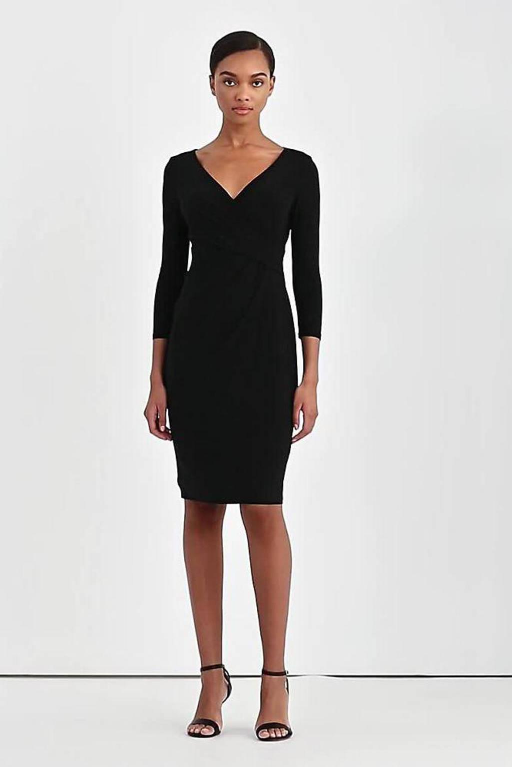 Lauren Ralph Lauren jurk Carlonda zwart, Zwart