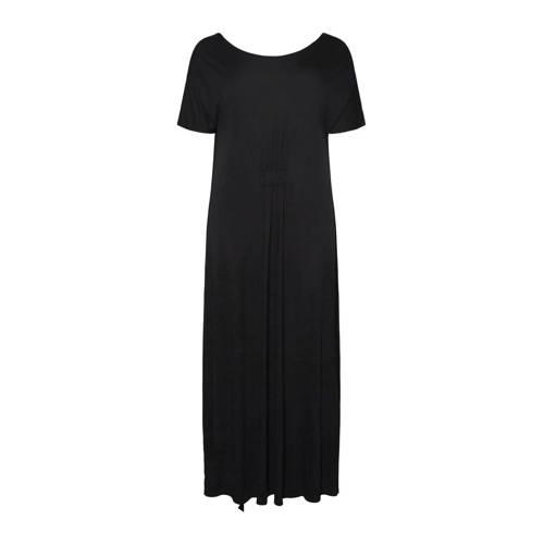 VERO MODA CURVE jurk met plooien zwart