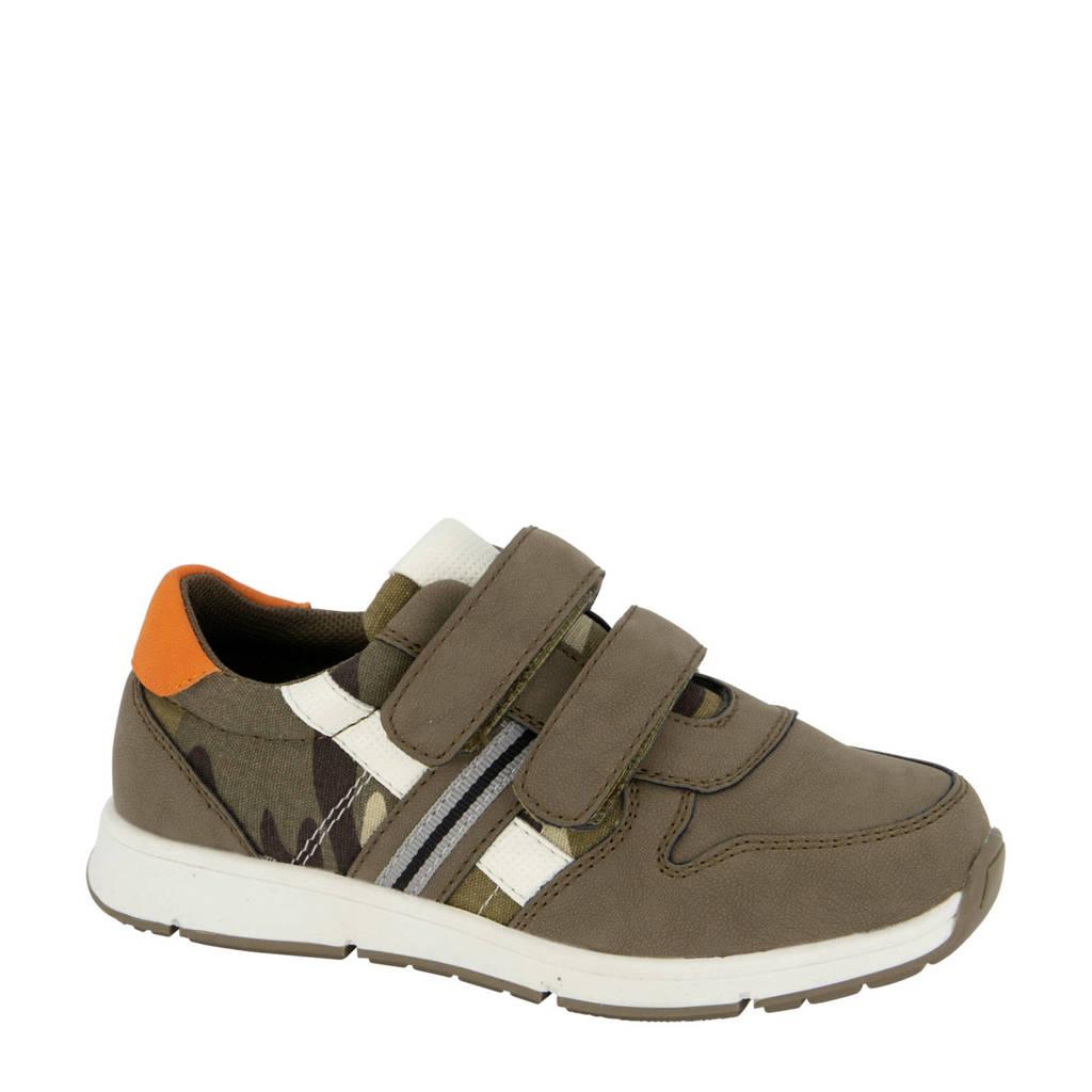 Bobbi-Shoes   sneakers kaki, Kaki