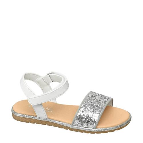 Graceland sandalen wit/zilver
