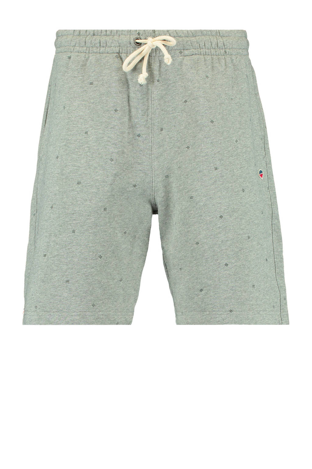 America Today regular fit sweatshort grey melange