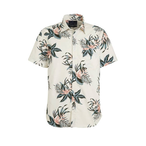 C&A Angelo Litrico gebloemd slim fit overhemd