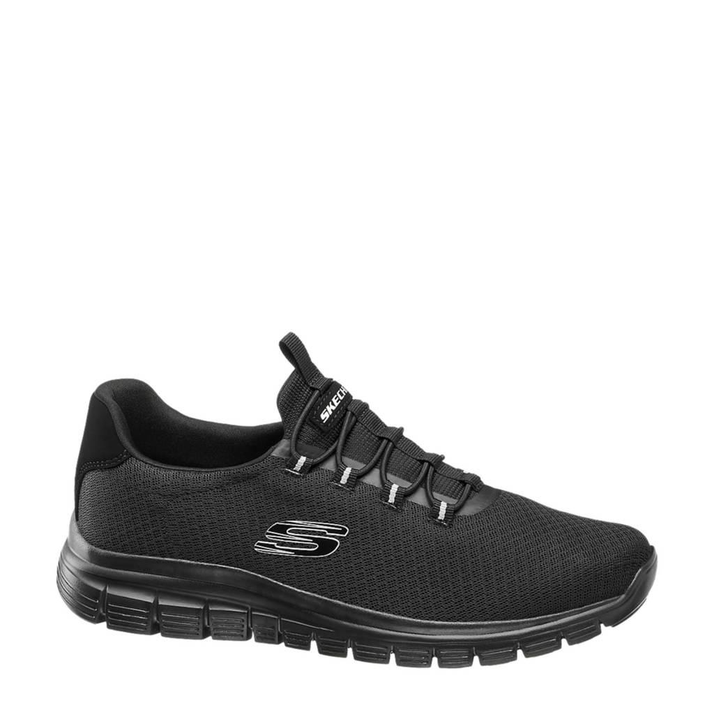 Skechers   sneakers zwart, Zwart