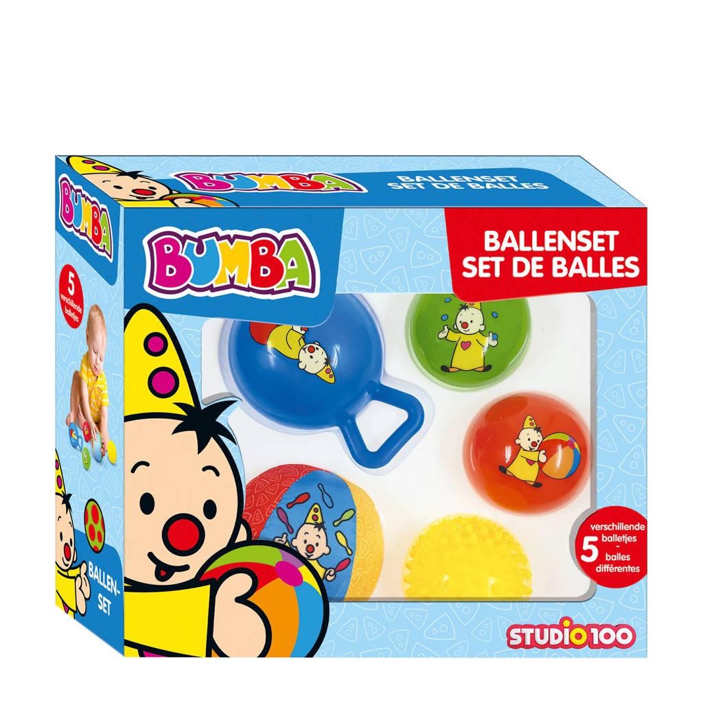 Studio 100 Bumba  Ballenset 5 stuks