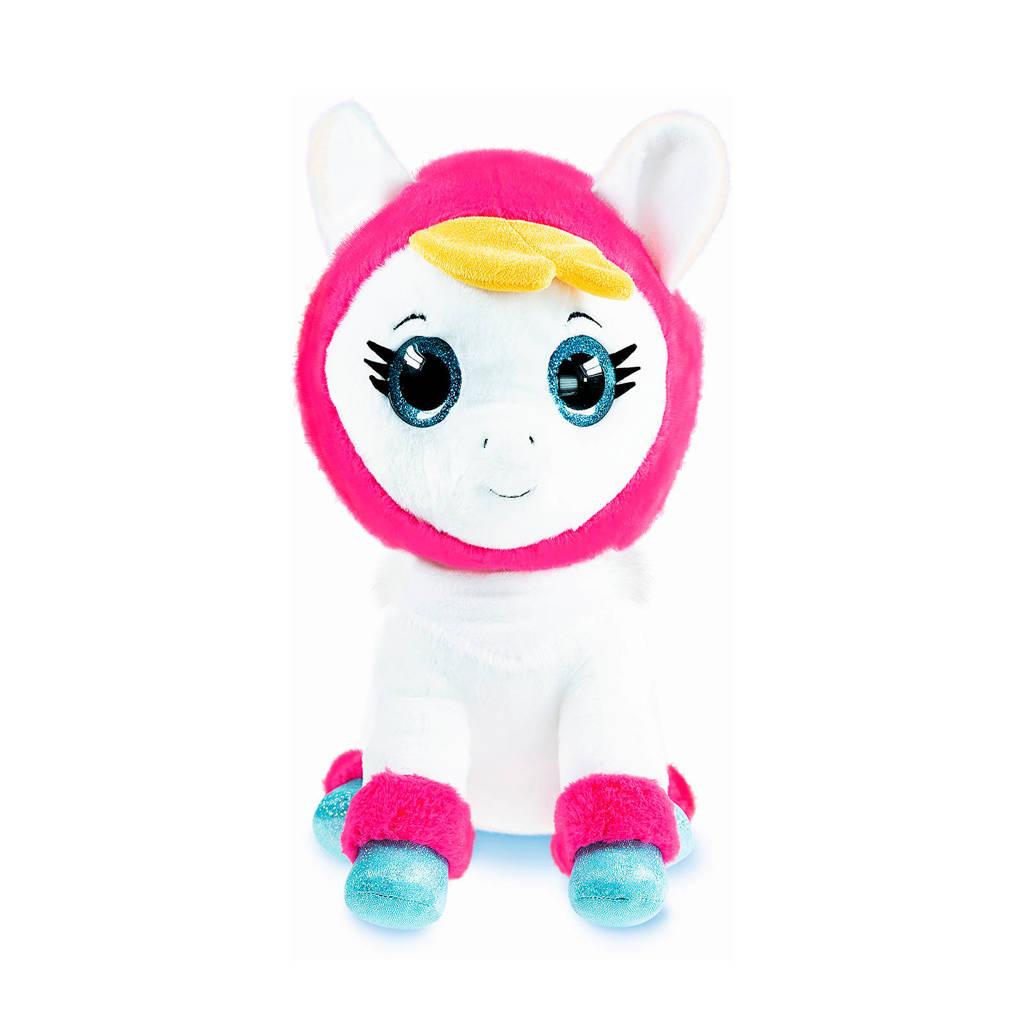 Studio 100 K3 Alpaca knuffel 40 cm  knuffel 40 cm, Wit/roze