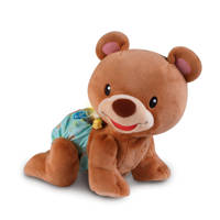 VTech Baby Kruip & Leer Babybeer interactieve knuffel, Bruin