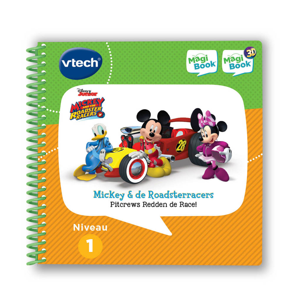 VTech Magibook MagiBook Mickey & The Roadster Racers