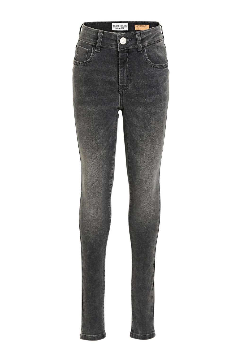 Cars high waist skinny jeans Ophelia mid grey, Mid Grey