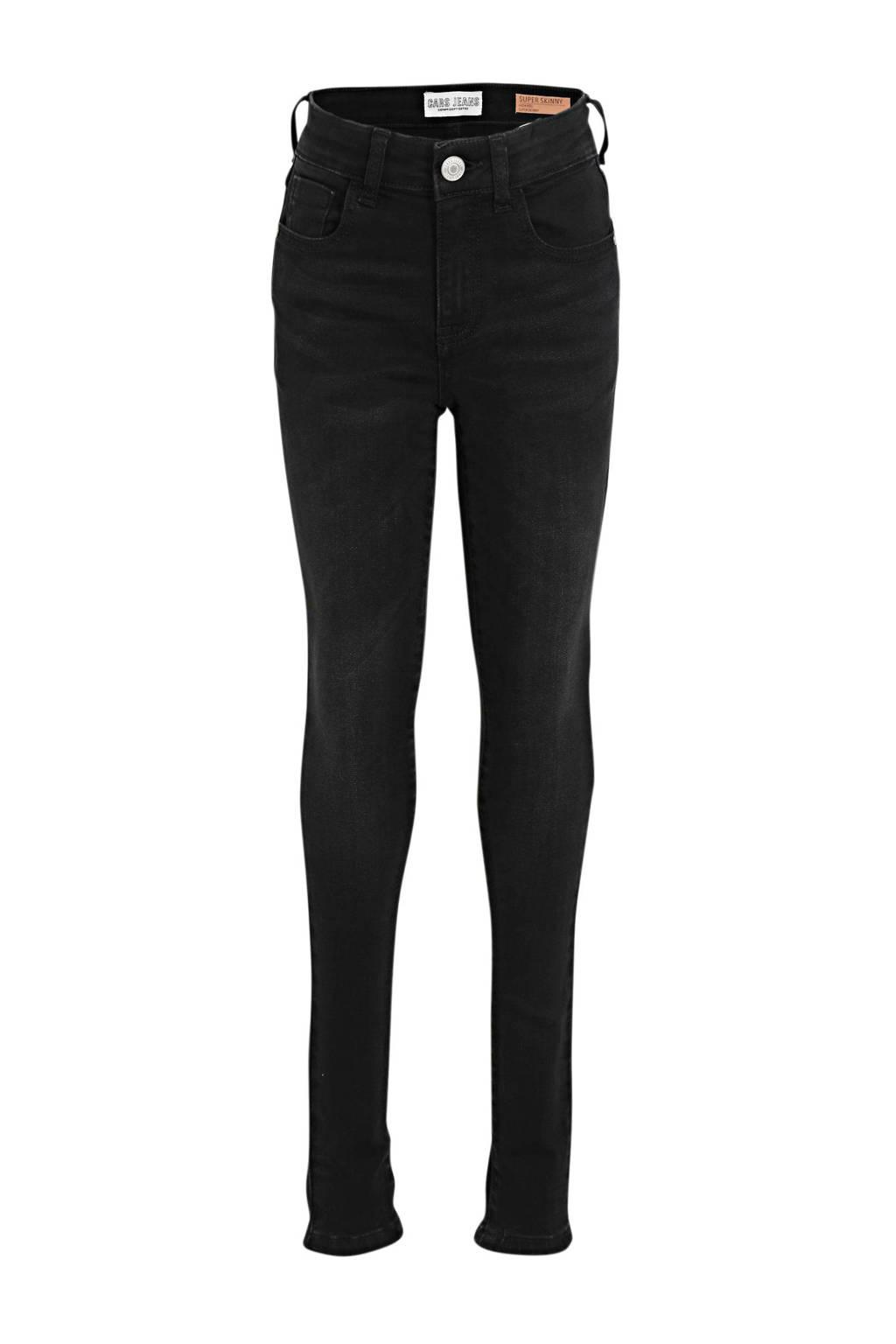 Cars high waist skinny jeans Ophelia black used, Black used