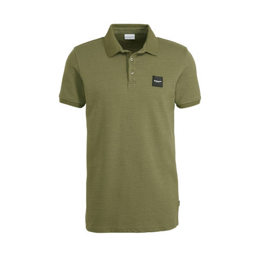 Ballin by Purewhite slim fit polo donkergroen