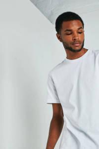 America Today T-shirt Emir lichtblauw, Wit