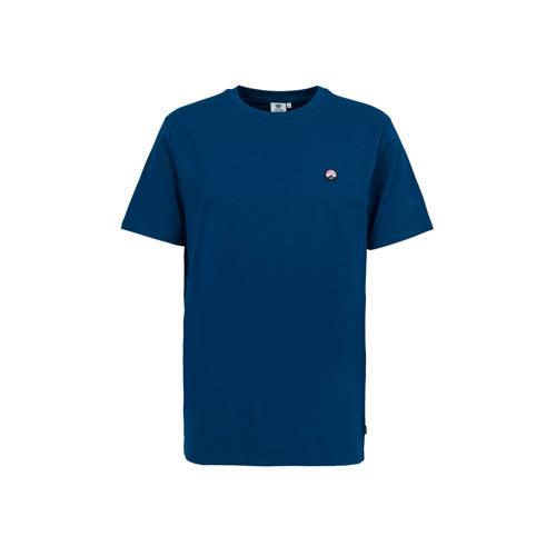 America Today T-shirt Edson met printopdruk donker