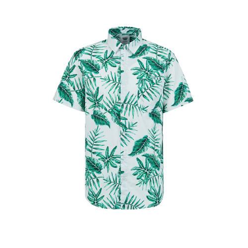 America Today regular fit overhemd met bladprint w