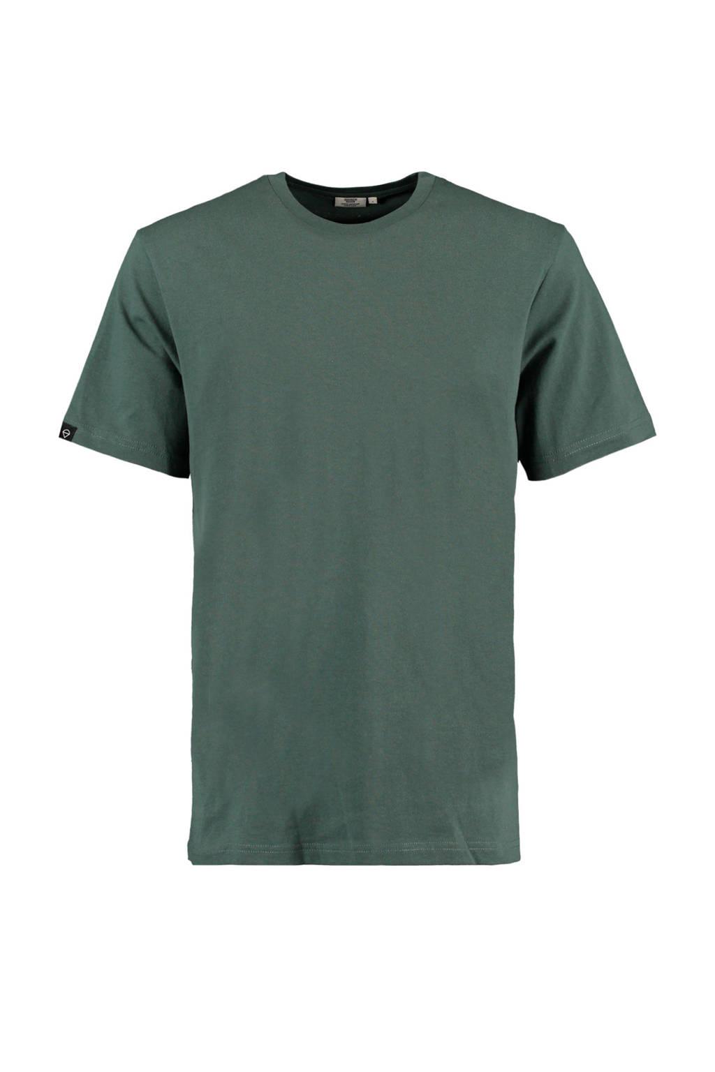 America Today T-shirt donkergroen, Donkergroen