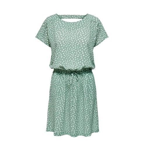 ONLY jurk met all over print blauw