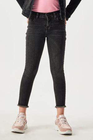 cropped high waist skinny jeans Amy latore wash