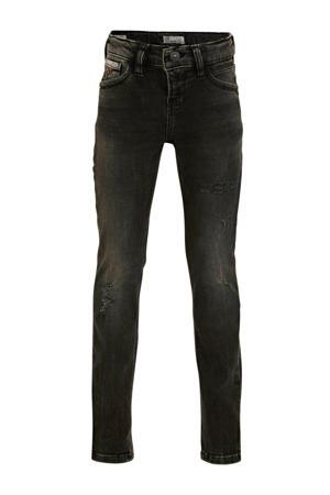 skinny jeans Cayle met slijtage dolly wash