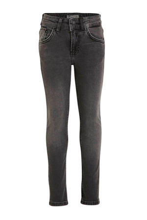 slim fit jeans Smarty grijs stonewashed