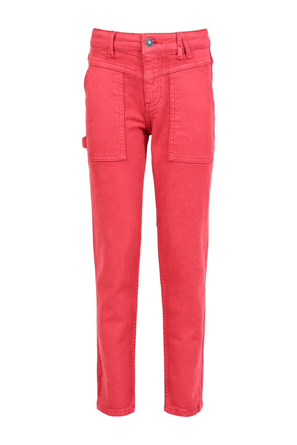 America Today Junior slim fit broek Kelsi roze, Roze